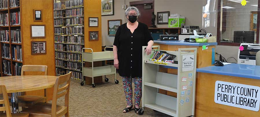 Library ReOpens February 9